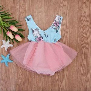 Other - Baby girl unicorn tutu party dress